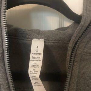 Lululemon scuba jacket size 4